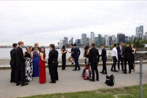 Canadian President Trudeau Photobombs School Prom
