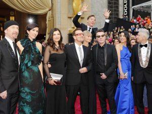 Image of Benedict Cumberbatch Photobomb