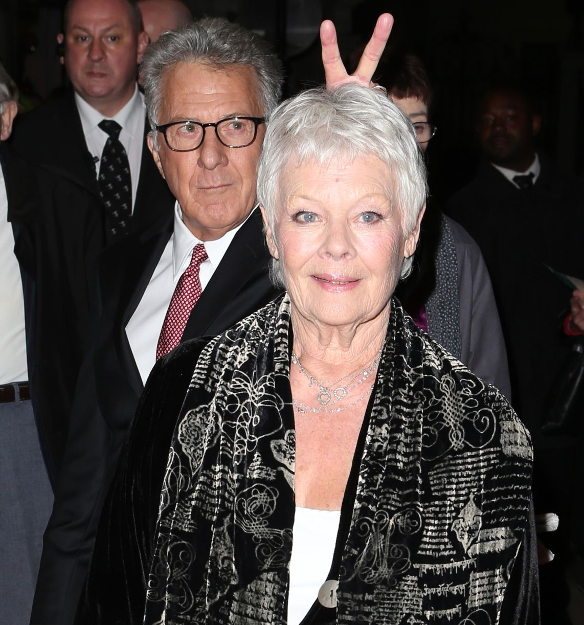 Image of Dustin Hoffman Photobomb