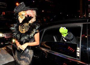 Image of Kermit the Frog Photobomb