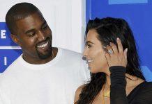 Image of Kanye West Photobombs Kim Kardashian and Her Dog's Selfie