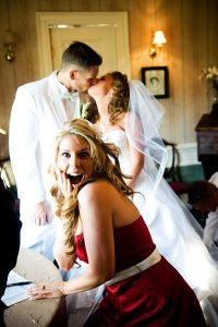 Image of Funny Wedding Photobombs