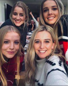 Schofield Photobombed Christmas Selfie