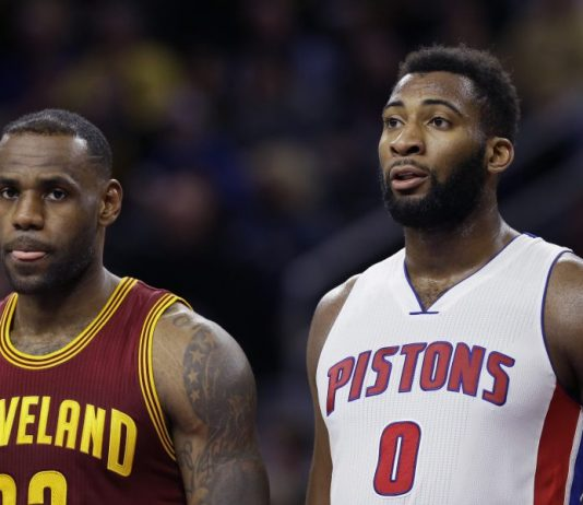 Image of Lebron James and Andre Drummond