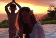 Gisele Bundchen's Serenade Video for Tom Brady Photobombed by Son